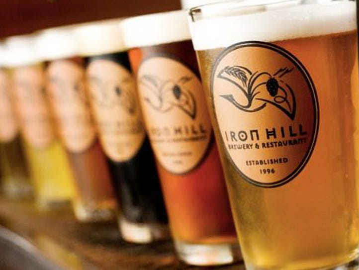 Iron Hill Brewery and Restaurant will open on May 1