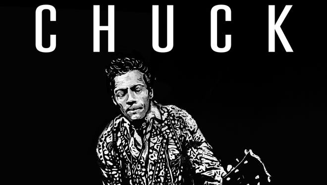 The album art for Chuck Berry's first new album since 1979, released by Nashville's Dualtone Records