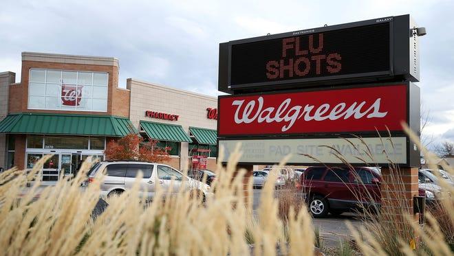 A Walgreens is shown October 27, 2015 in Boulder, Colorado.
