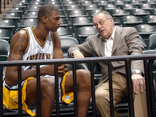 Pacers CEO Donnie Walsh had high hopes for Jonathan Bender.