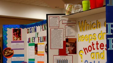Students compete at AU science fair
