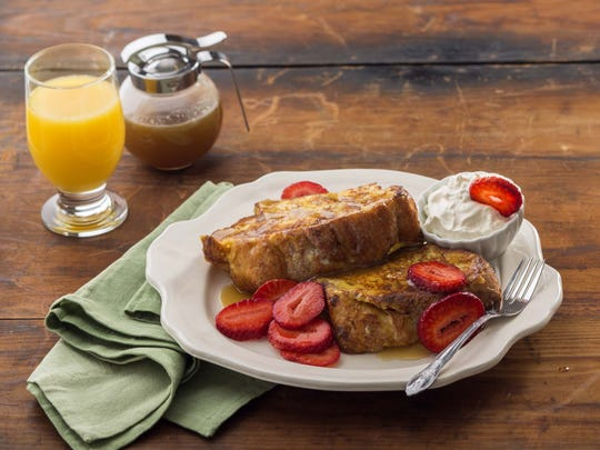French toast breakfast from Kneaders.