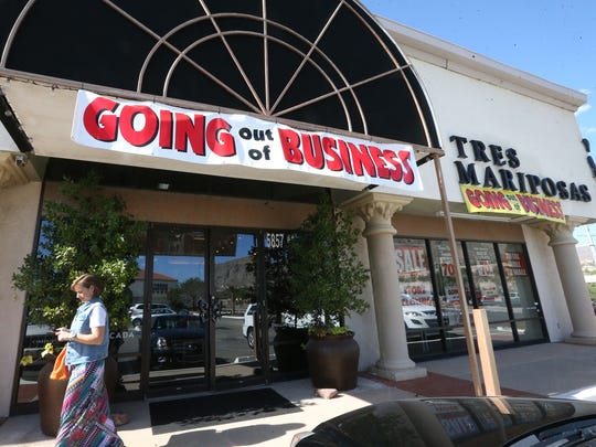 Tres Mariposas, at 5857 N. Mesa St. in West El Paso, began its going-out-of-business sale Friday. It opened in 1970 at a different location.