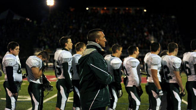 BFA-St. Albans has banned from St. Johnsbury football coach Rich Alercio after his alleged behavior in the teams' regular-season game. BFA also made a request to the VIFL that the teams are not scheduled to play while Alercio remains SJA's coach.