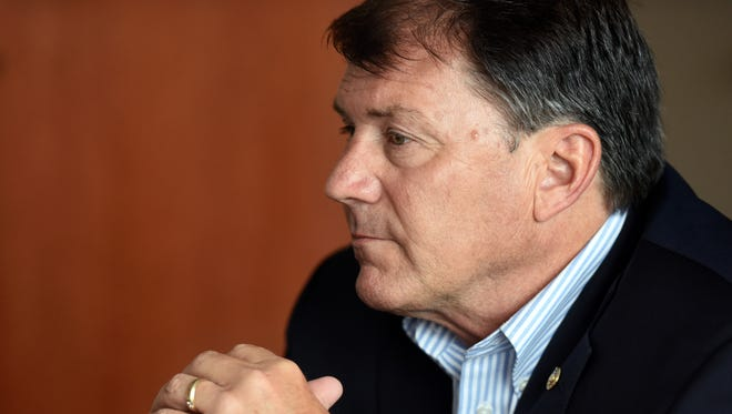 Sen. Mike Rounds won office in 2014 and will be up for re-election in 2020 if he runs again.
