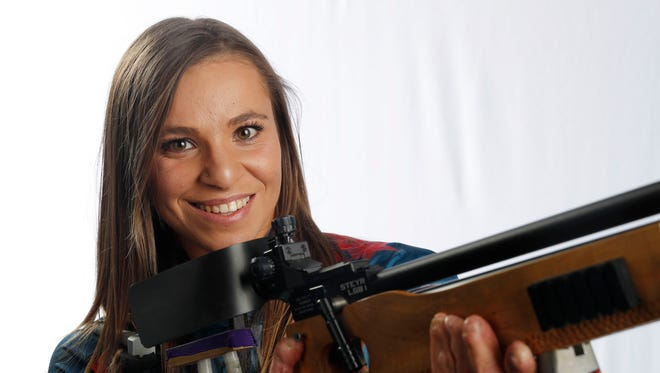 Oksana Masters, a three-time Paralympic medalist, will compete in biathlon and cross country skiing in Pyeongchang.