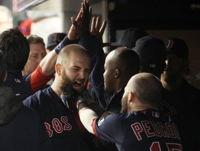 The Red Sox are taking a script right out of the NHL playbook -- playoff beards. Only, it began far before the postseason. Almost every player on the roster has some sort of facial hair, with many looking like Civil War generals. A look at some of the bearded ones: