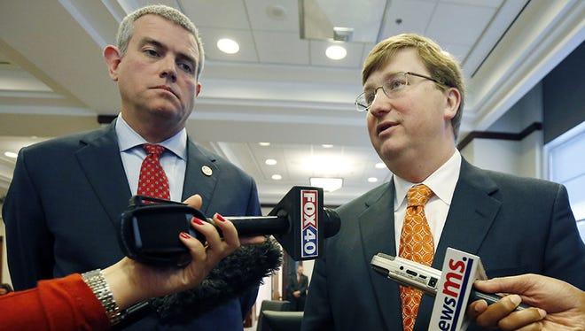 House Speaker Philip Gunn and Lt. Gov. Tate Reeves