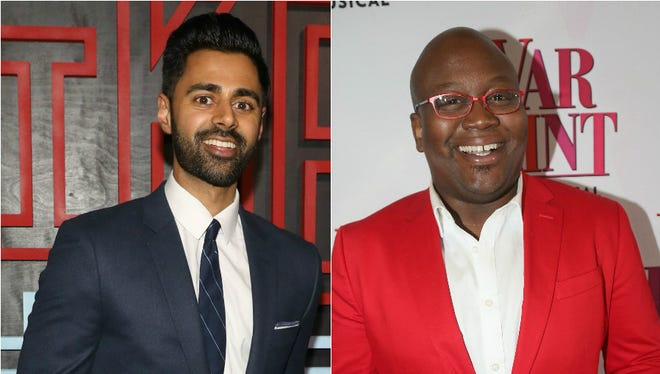 Hasan Minhaj, left, and Tituss Burgess share moving stories about prom on 'The Moth' and 'Modern Love.'