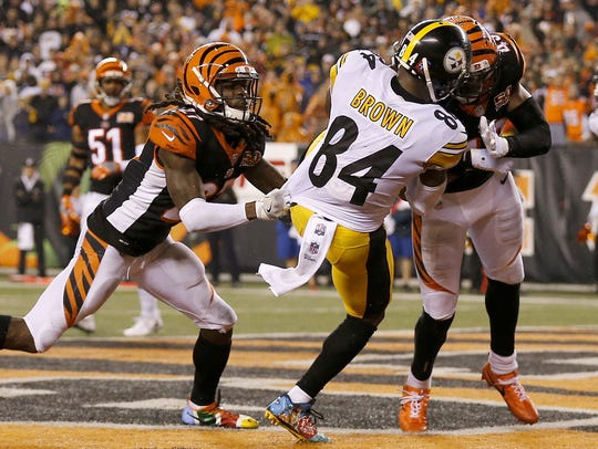 Cincinnati Bengals safety George Iloka was fined over