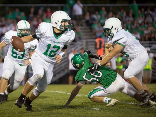 Yorktown took on New Castle on Sept. 15 at Yorktown