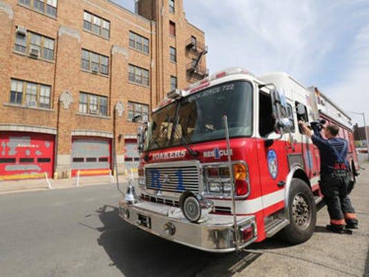 Yonkers firetruck