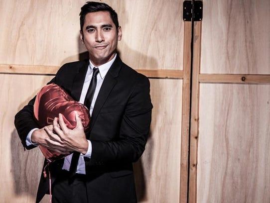 David Cruz, a matchmaker whose business caters to LGBTQ
