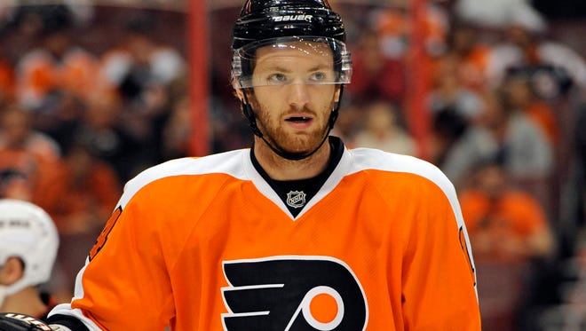 Flyers center Sean Couturier managed only four goals last season.