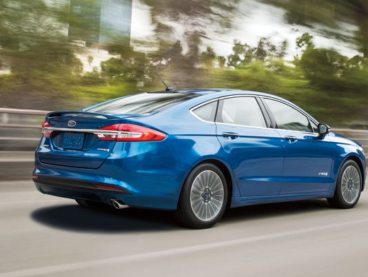 Car Review 2017 Ford Fusion Hybrid