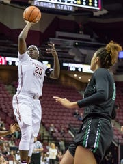 FSU senior forward Shakayla Thomas has has garnered national recognition for her offensive abilities.