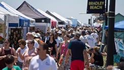 The Bradley Beach LobsterFest gets underway along the