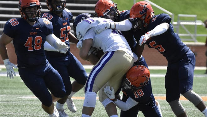 The Hope College football team will return in the spring.