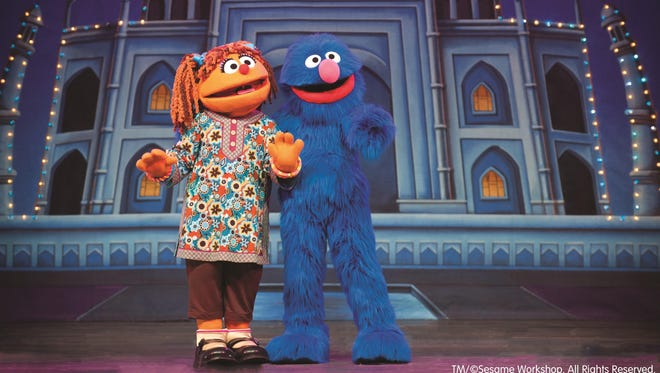 "When Chamki visits Grover in ""Sesame Street Live: Make a New Friend,' they learn the value of creating cross-cultural bonds."