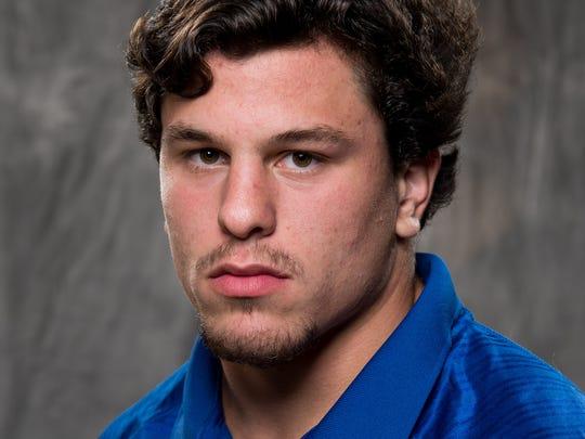 Brentwood linebacker C.J. Grissim