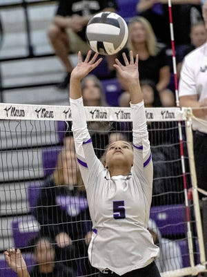 Senior setter Brooke Norwood is among the top returnees for the North girls volleyball team, which hopes to improve on last year's second-place finish in the OCC-Ohio Division.