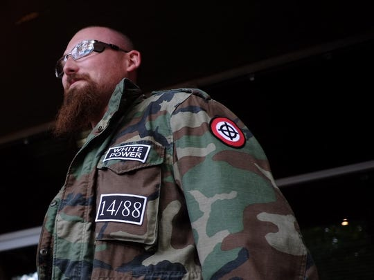 A White supremacist from Stormfront attends the Stormfront