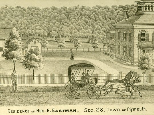 In the late 1870s and onward, Enos Eastman owned a