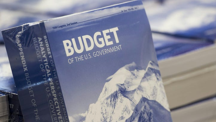 Copies of President Obama's Fiscal Year 2017 budget