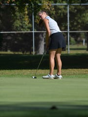 Shelby freshman Amanda Ruminski led the Whippets with a 79 in Monday's Division II district golf tournament.