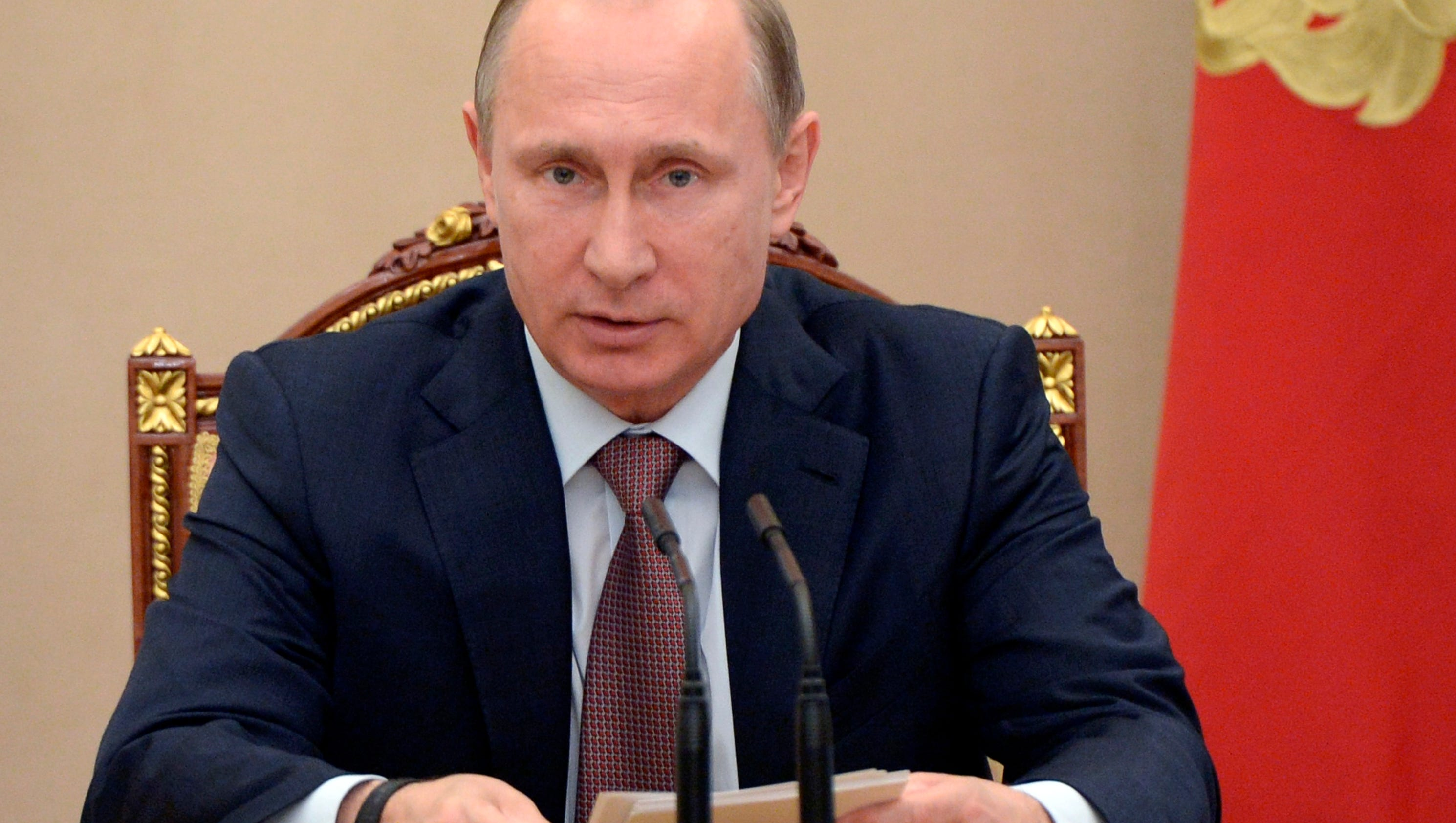 Russia retaliates for sanctions by ordering cuts to diplomatic staff