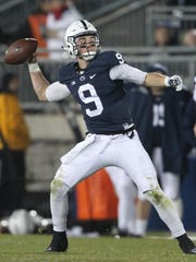 Penn State QB Trace McSorley will be expected to live