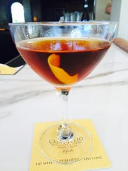 Martinez Rabarbaro is one of five new signature cocktail