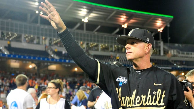 A statue of Vanderbilt baseball coach Tim Corbin is being proposed by fans.