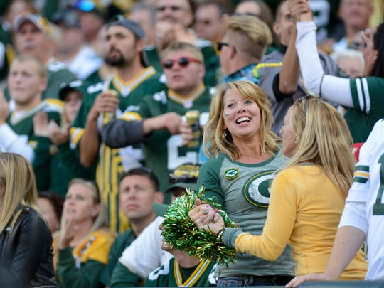 "Dancing and singing along to ""Roll Out the Barrel"" during the third quarter break at Green Bay Packers games has been a Lambeau Field tradition since 2007."