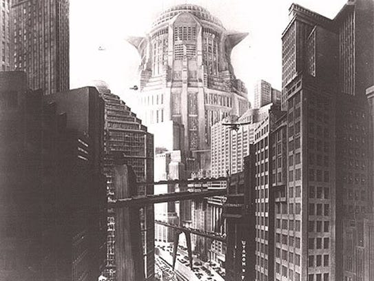 """Metropolis"" features director Fritz Lang's vision"