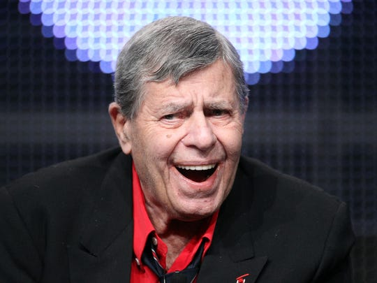 Actor Jerry Lewis speaks during 'The Method to the