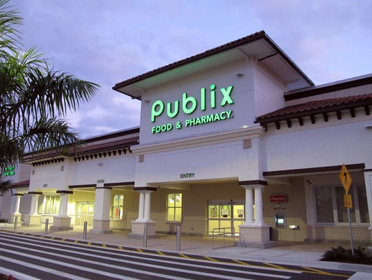 The Publix supermarket on the corner of Immokalee Road