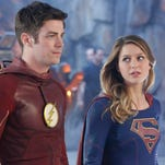 Barry Allen (Grant Gustin) will now share the same network -- CW -- with Kara Danvers (Melissa Benoist), aka 'Supergirl.'