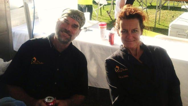 Bridgit Stone-Budd and Daniel Cooke Budd opened The Pecking Order on Sanibel in November.