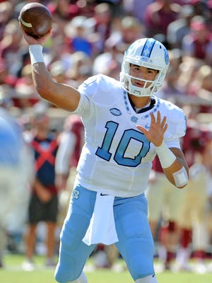 Will former North Carolina QB Mitchell Trubisky be the first passer drafted Thursday?