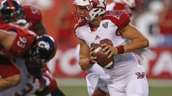Former Miami University Andrew Hendrix will be at the Bengals rookie mini camp as a undrafted free agent this weekend.
