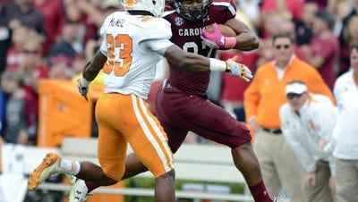 Tennessee's game at South Carolina on November 1 will be a 6:30 Central kickoff.