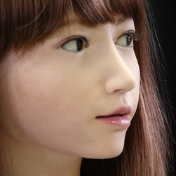 Erica, the humanoid robot, is chatty but still has a lot to learn
