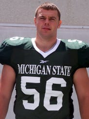 Tony Grant was the long snapper for Michigan State