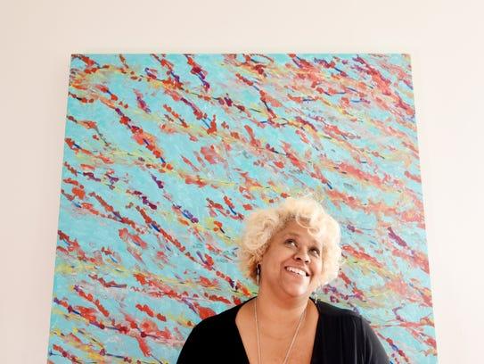 Artist Karen La Beau had her home open at the Highland