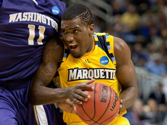 Darius Johnson-Odom and Marquette lost a nail-biter to Washington in a 2010 first-round NCAA Tournament game.