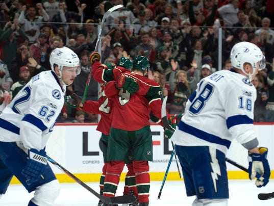 (AP) — The Minnesota Wild have slipped into a long slump almost every winter  this decade. Bad habits can be broken 65353959d