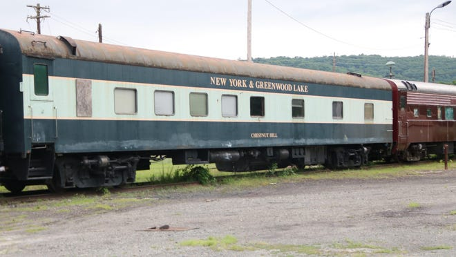 Neglected train cars left on Port Jervis tracks are impeding plans for a transportation museum.