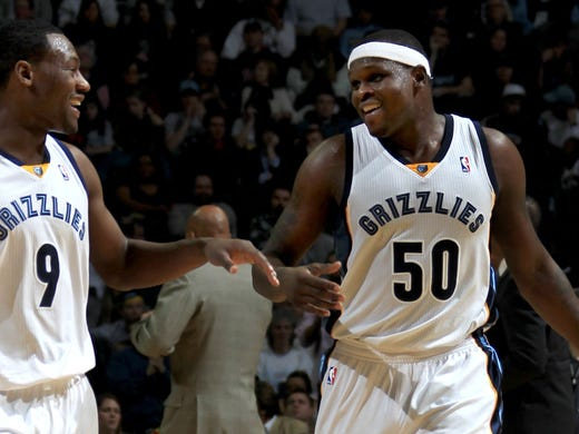 December 16, 2011 -  Memphis Grizzlies Tony Allen (9)