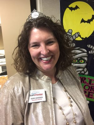 Ozark native Dori Grinder became the city's chamber of commerce directer in 2010.